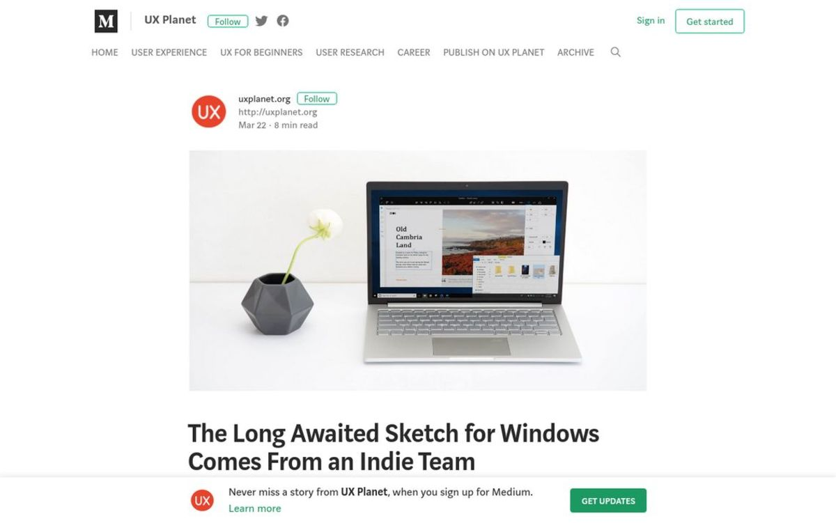 The Long Awaited Sketch For Windows Comes From An Indie Team