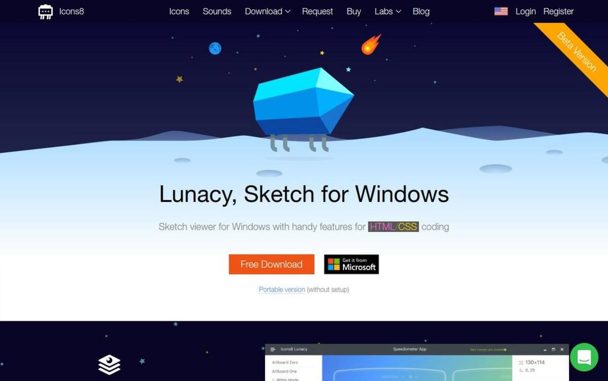 Icon8 Lunacy: Sketch viewer for Windows