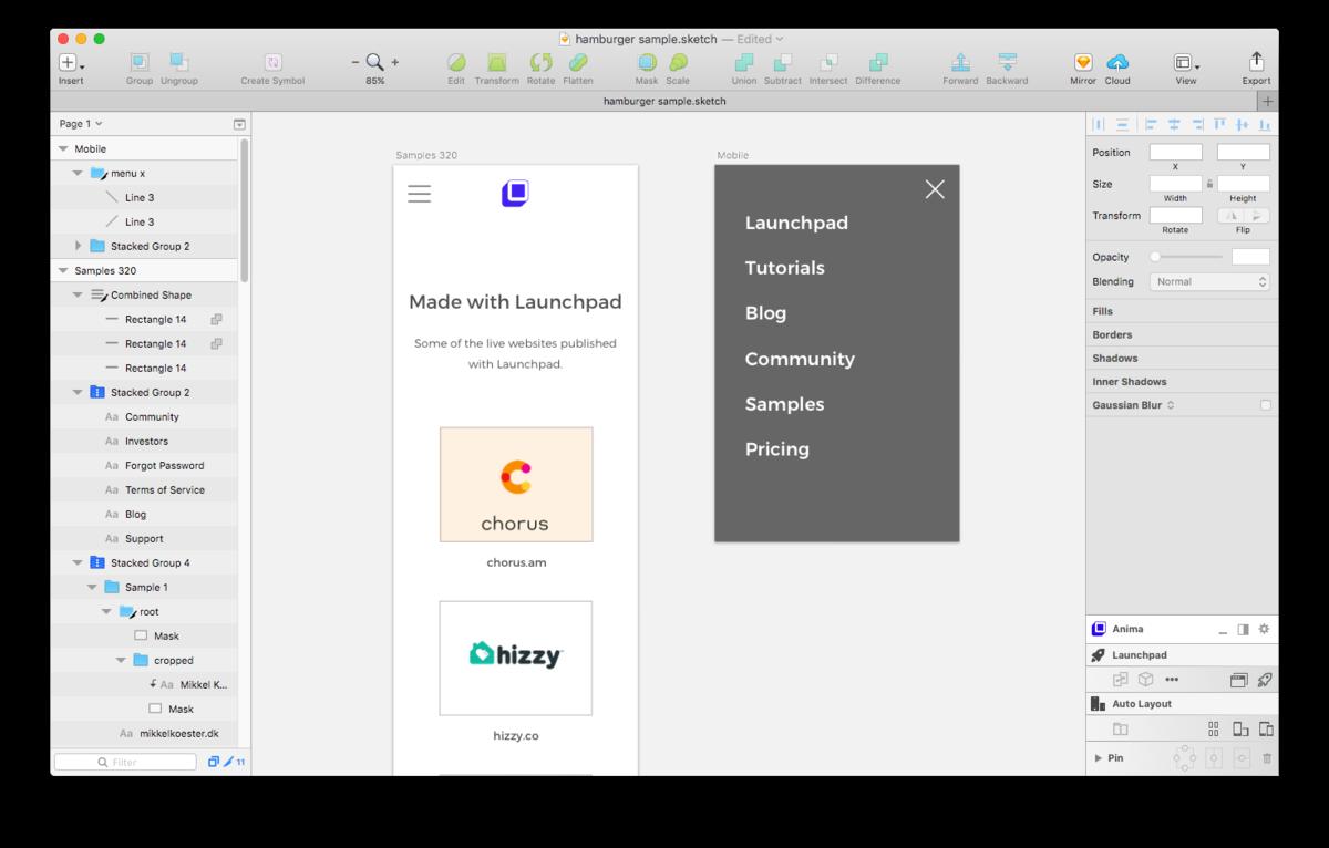 How To Create A Hamburger Menu For Your Website Design Sketch Medium